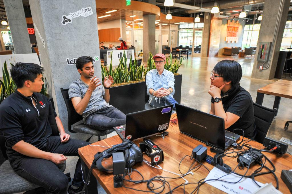 The start-up Grace Foundry at the Lassonde Studios on the University of Utah Campus, Salt Lake City, UT on Thursday, July 13, 2017  (Photo by Adam Fondren | Daily Utah Chronicle)