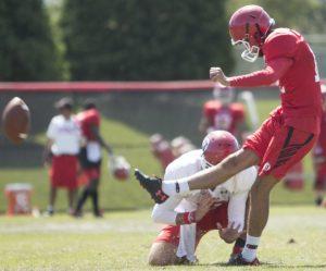Football: Utah Releases Depth Chart, Offensive Line Making Progress