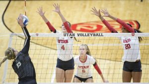 Volleyball: No. 15 Utah Drops Match to No. 12 Oregon