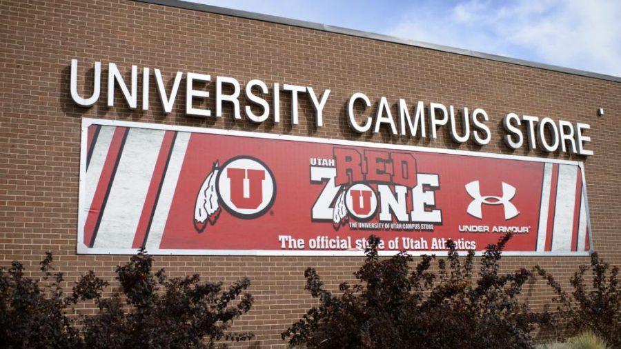 The University of Utah Campus Store on Thursday, Sept. 28, 2017. (Photo by Kiffer Creveling)