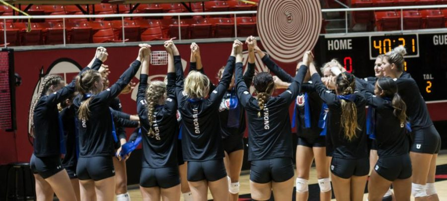 Volleyball%3A+No.+18+Utah+Sweeps+Competition+in+Utah+Volleyball+Classic