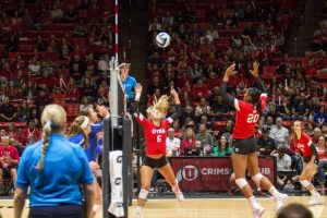 Volleyball: No. 16 Utah Hosts No. 25 Colorado, Cal to Open Conference Action