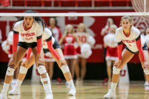 Volleyball: No. 16 Utah Sweeps Cal, 3-0