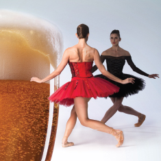Beer, ballet, bites and the best part… everyone benefits!