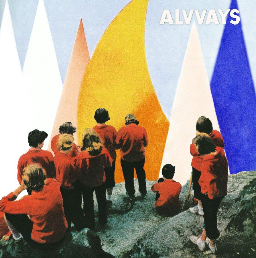 Album cover of Alvvay's latest album,
