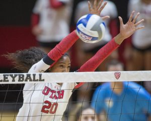 Volleyball: No. 17 Utah Upsets No. 9 Washington in Five Set Thriller