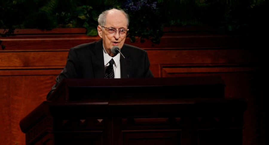 University of Utah graduate and apostle for the Church of Jesus Christ of Latter-day Saints Robert D. Hales passed away on October 1, 2017.