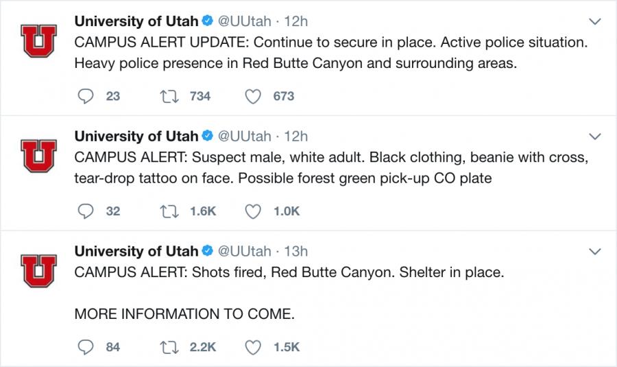 University of Utah Twitter Feed