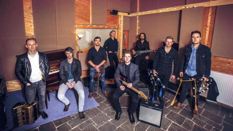 Skerryvore Gives Bagpipes New Sound