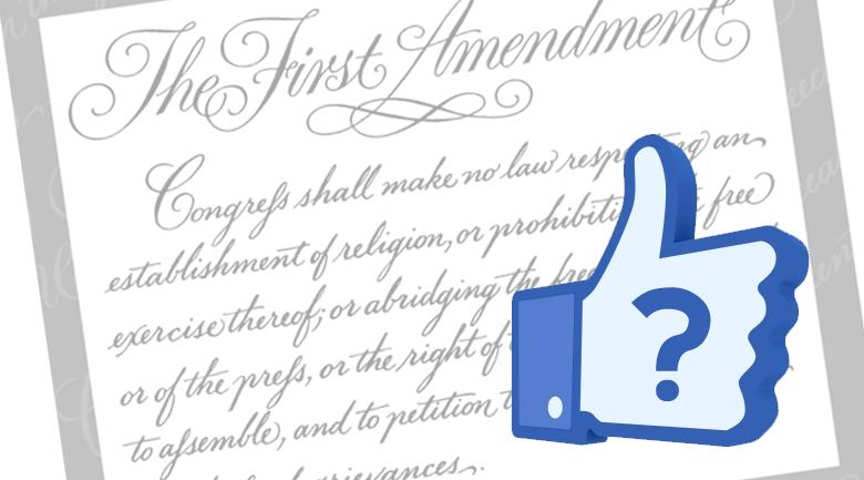 Barron: First Amendment on Social Media