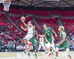 Men's Basketball: Utah Thrashes Mississippi Valley State, 91-51