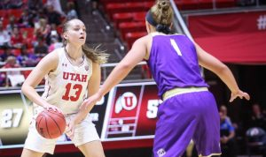 Women's Basketball: Utah Overpowers Weber State in 85-58 Victory