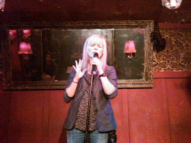 Maria Bamford performs at Bar Lubitsch