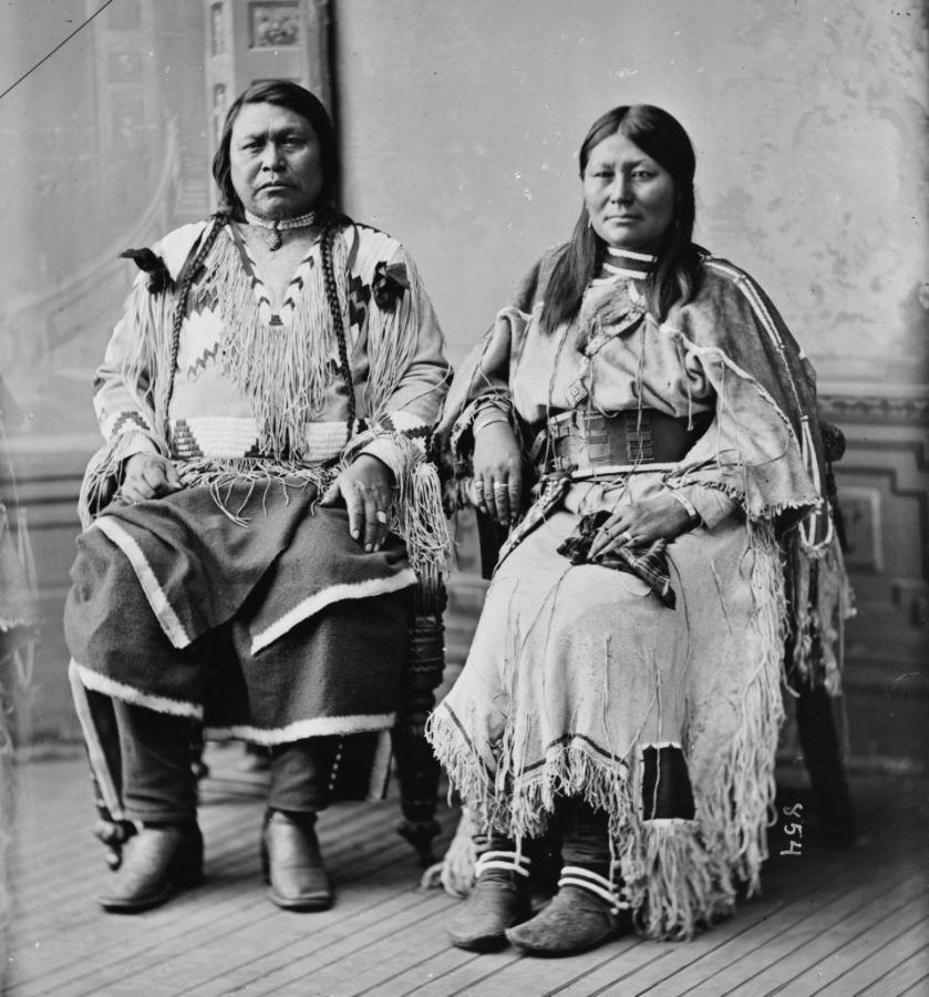 Chief+Ouray+and+Chipeta+of+the+Ute+Tribe+%28between+1865+and+1880%29