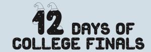 Parkin: 12 Days of College Finals