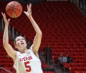 Women's Basketball: Huff's Double-Double Leads Utah to 89-65 Victory Over Pepperdine