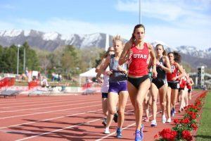 Track and Field: Utah Earns Top 10 Finishes in Season Opener, Murphy Breaks School Record at BU Opener