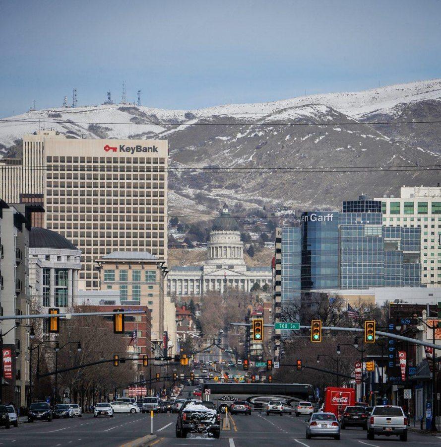 Transportation in and and around the University of Utah in Salt Lake City, UT on Wednesday, Jan. 24, 2018  (Photo by Adam Fondren | Daily Utah Chronicle)