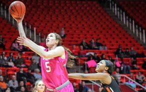 Women's Basketball: Utes Drop Game to No. 17 Oregon State, 69-58