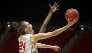 Women's Basketball: Utah Downs Arizona, 80-56