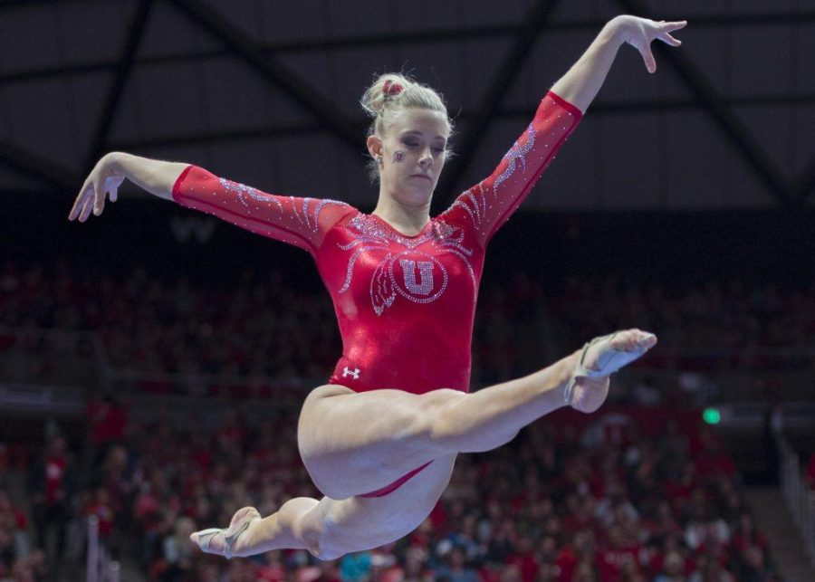 University+of+Utah+women%27s+gymnastics+junior+MaKenna+Merrell-Giles+performs+on+the+balance+beam+in+a+duel+meet+vs.+Brigham+Young+University+at+the+Jon+M.+Huntsman+Center+in+Salt+Lake+City%2C+Utah+on+Friday%2C+Jan.+5%2C+2018.%0A%0A%28Photo+by+Kiffer+Creveling+%7C+The+Daily+Utah+Chronicle%29