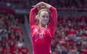 Gymnastics Gives Stover Platform to Learn, Lead