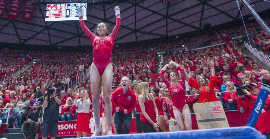 University+of+Utah+women%27s+gymnastics+sophomore+Kim+Tessen+performs+on+the+uneven+bars+in+a+duel+meet+vs.+Brigham+Young+University+at+the+Jon+M.+Huntsman+Center+in+Salt+Lake+City%2C+Utah+on+Friday%2C+Jan.+5%2C+2018.%0A%0A%28Photo+by+Kiffer+Creveling+%7C+The+Daily+Utah+Chronicle%29