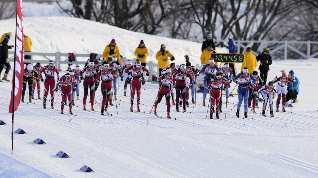 University of Utah ski team hosts the Utah Invite where vaious teams compete in Nordic ski racing at Soldier Hollow, in Heber Utah on Sunday and Monday, January 10-11, 2015