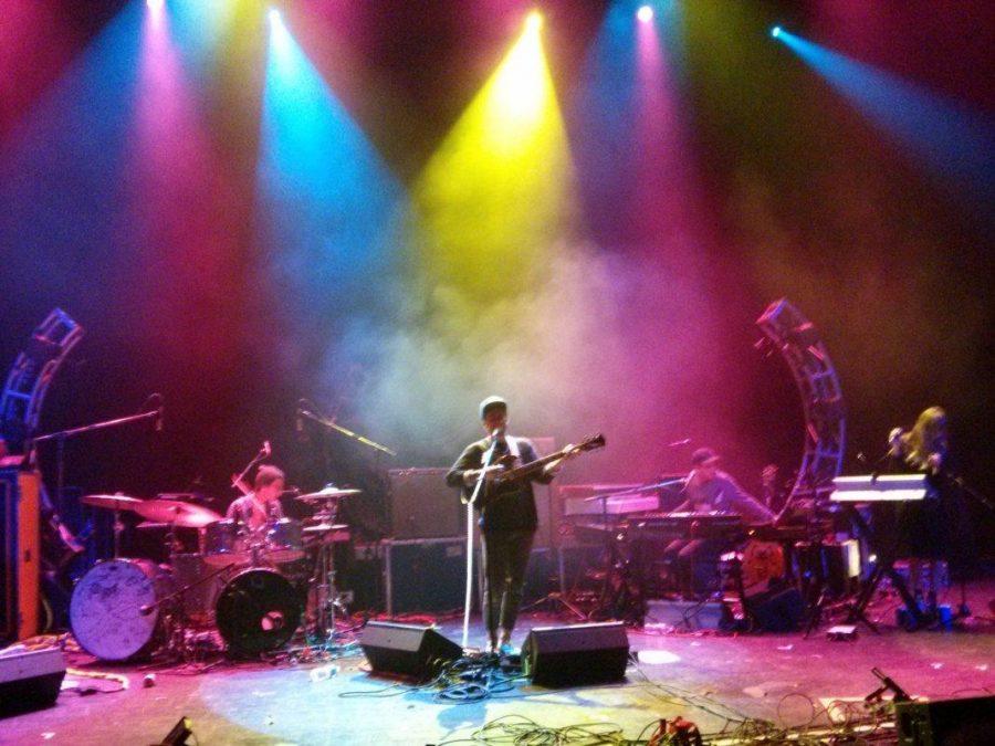 Portugal. The Man performs in Kansas City, Missouri (2013)