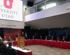 Ruth Watkins was selected as the new president of the University of Utah on Thursday, Jan. 18, 2018.