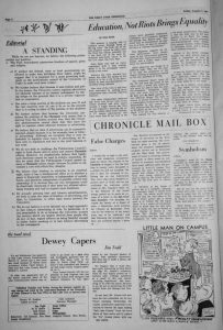 How The Chronicle Covered the Civil Rights Era