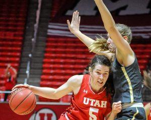 Women's Basketball: Utah Edges Out Colorado, 78-74