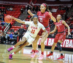 Women's Basketball: Utah Defeats WSU, 54-50