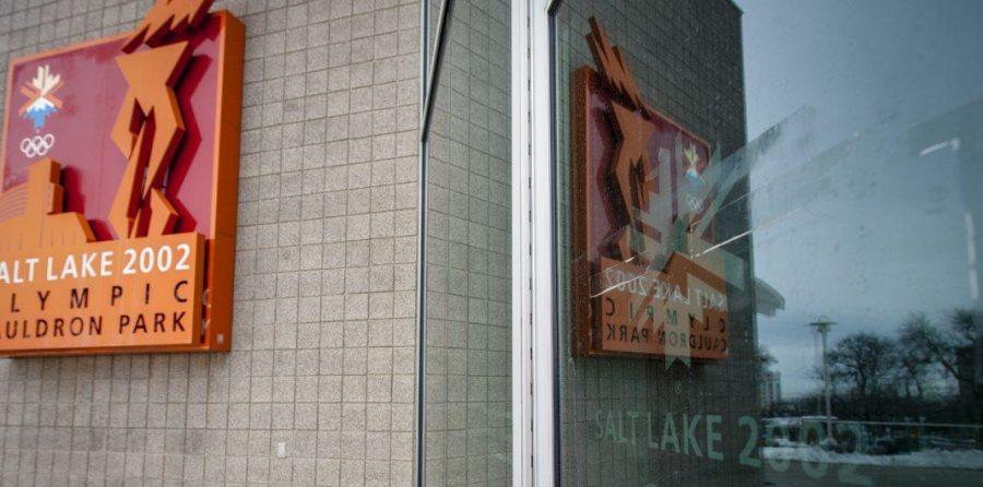 The visitors center for the 2002 Salt Lake Olympics at Rice Eccles Stadium in Salt Lake City, UT on Monday, Feb. 26, 2018
