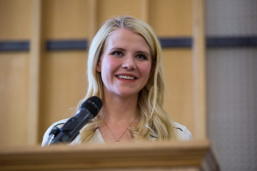 Elizabeth Smart Addresses Coping With Sexual Assault at the U