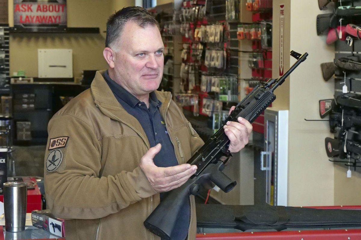 Clark Aposhian, chairman of the Utah Shooting Sports Council.