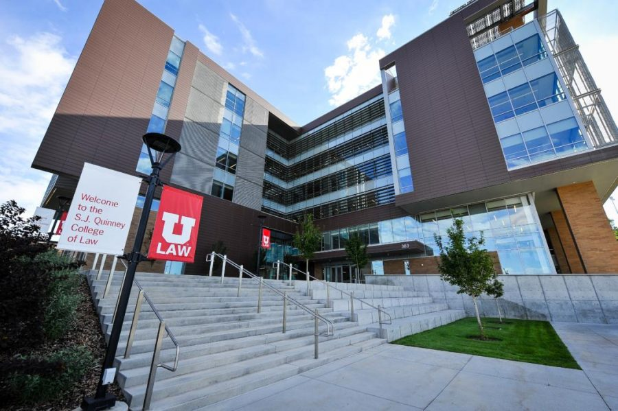 S.J.+Quinney+Law+School+on+the+University+of+Utah%27s+campus.+Chronicle+archives.%0A