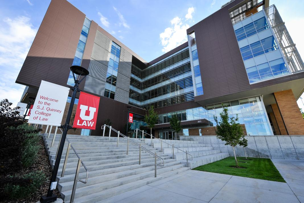 S.J. Quinney Law School on the University of Utah's campus. Chronicle archives.