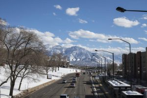 Snowy mountains in Salt Lake City | Chronicle archives