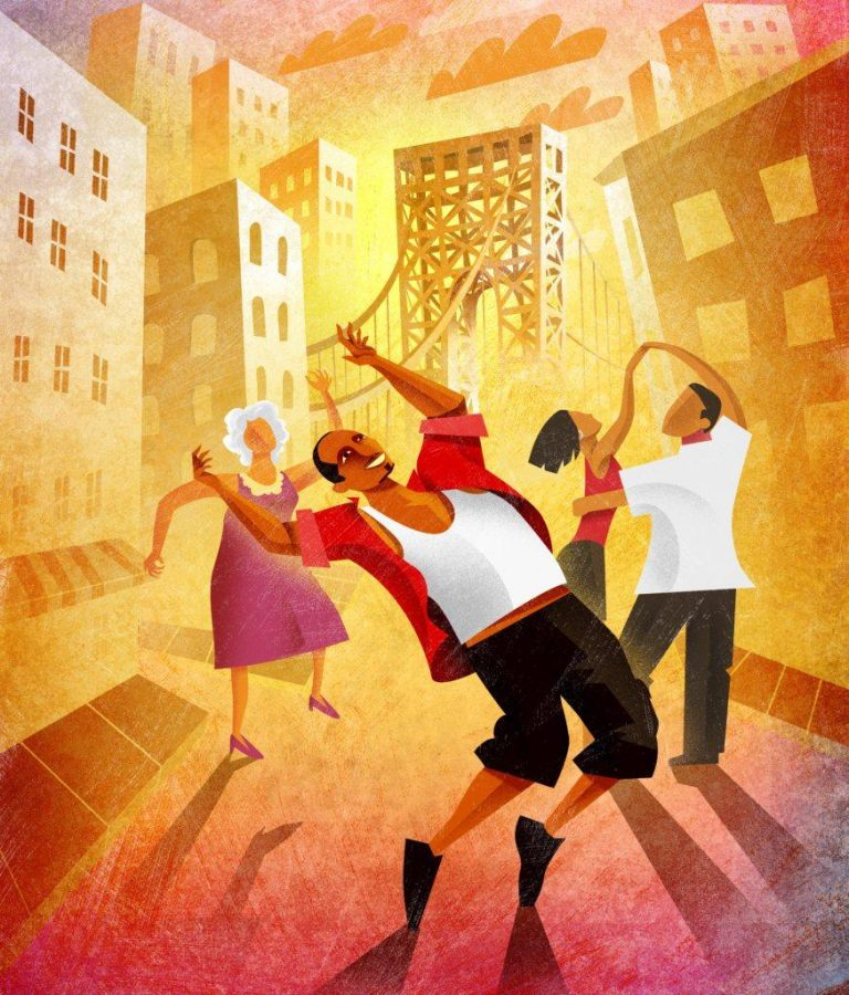 Artwork for In the Heights, credit to PCT