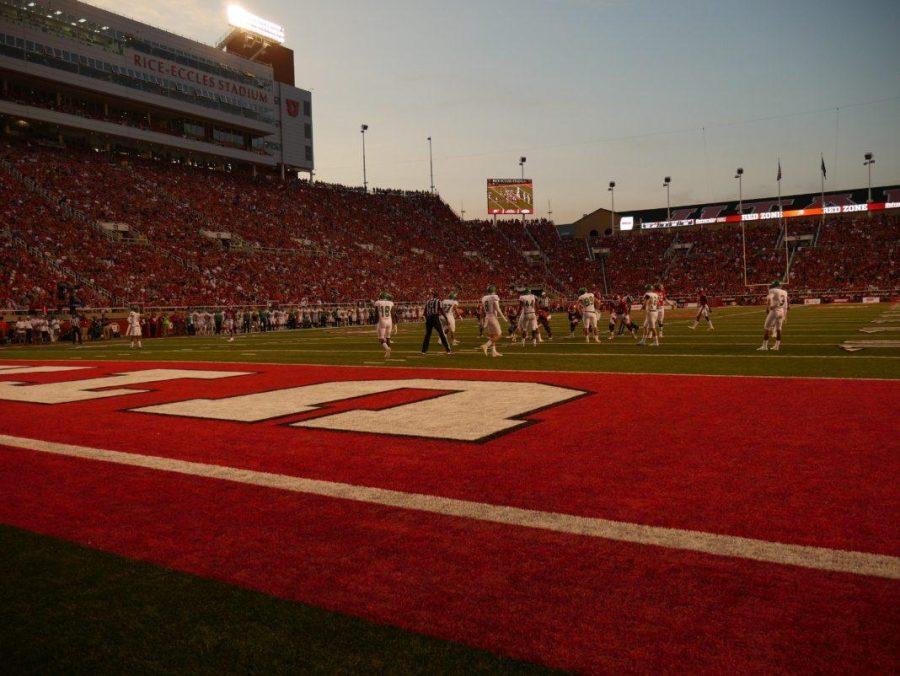 The University of Utah XX in an NCAA football game vs. The North Dakota Hawks in Rice Eccles Stadium in Salt Lake City, UT on Wednesday,Aug.30, 2017  (Photo by Jose Remes | Daily Utah Chronicle)