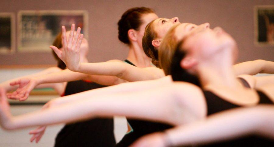 A Utah Ballet Rehersal in the Marriot Dance Building. January 25, 2017. Michael Adam Fondren for The Daily Utah Chronicle