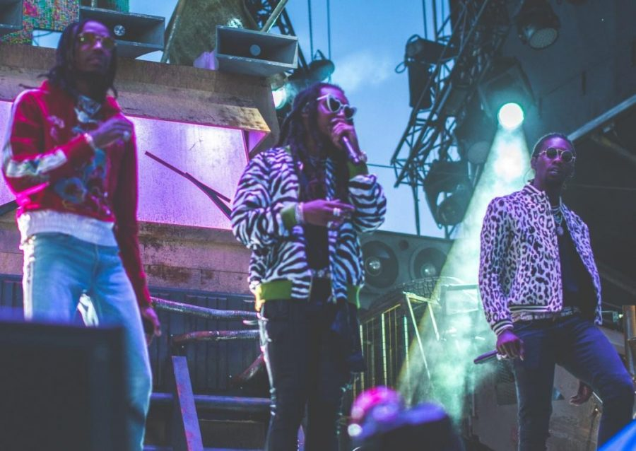 Migos perform at VELD Music Festival in Toronto in August 2017. Wikimedia Commons, The Come Up Show