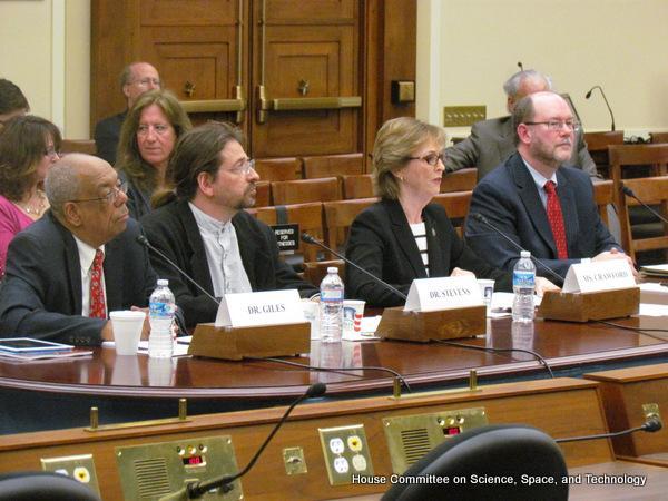 Daniel Reed testifies before Congress.