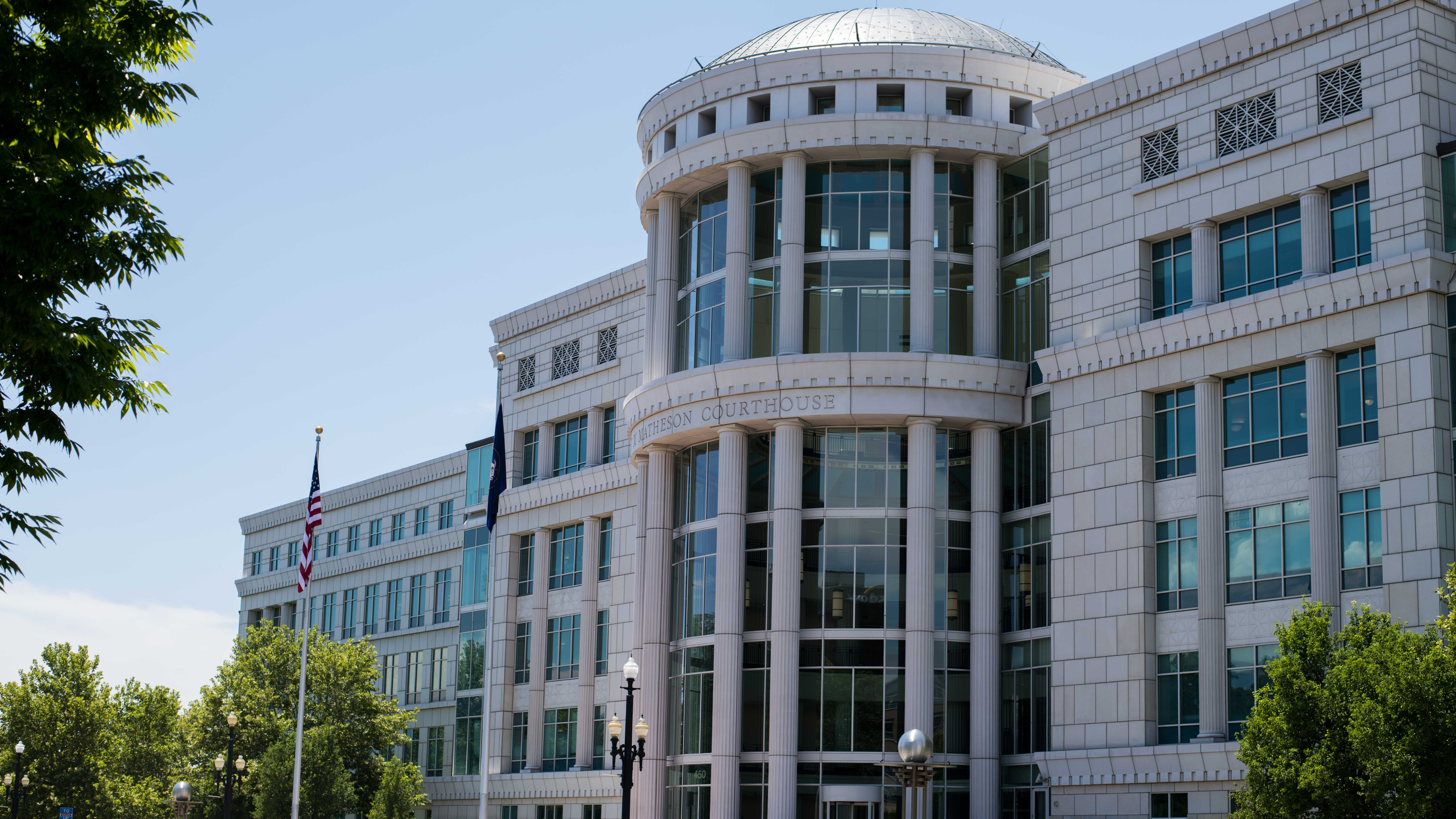 Scott M. Matheson Courthouse in Salt Lake City, UT on Monday July 09, 2018.  (Photo by Curtis Lin/ Daily Utah Chronicle)