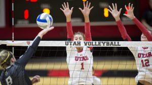 Volleyball: Utes Headed to Washington