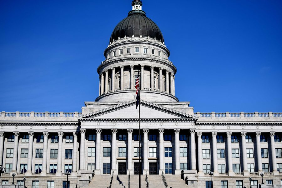 Utah+State+Capitol.+Chronicle+archives.