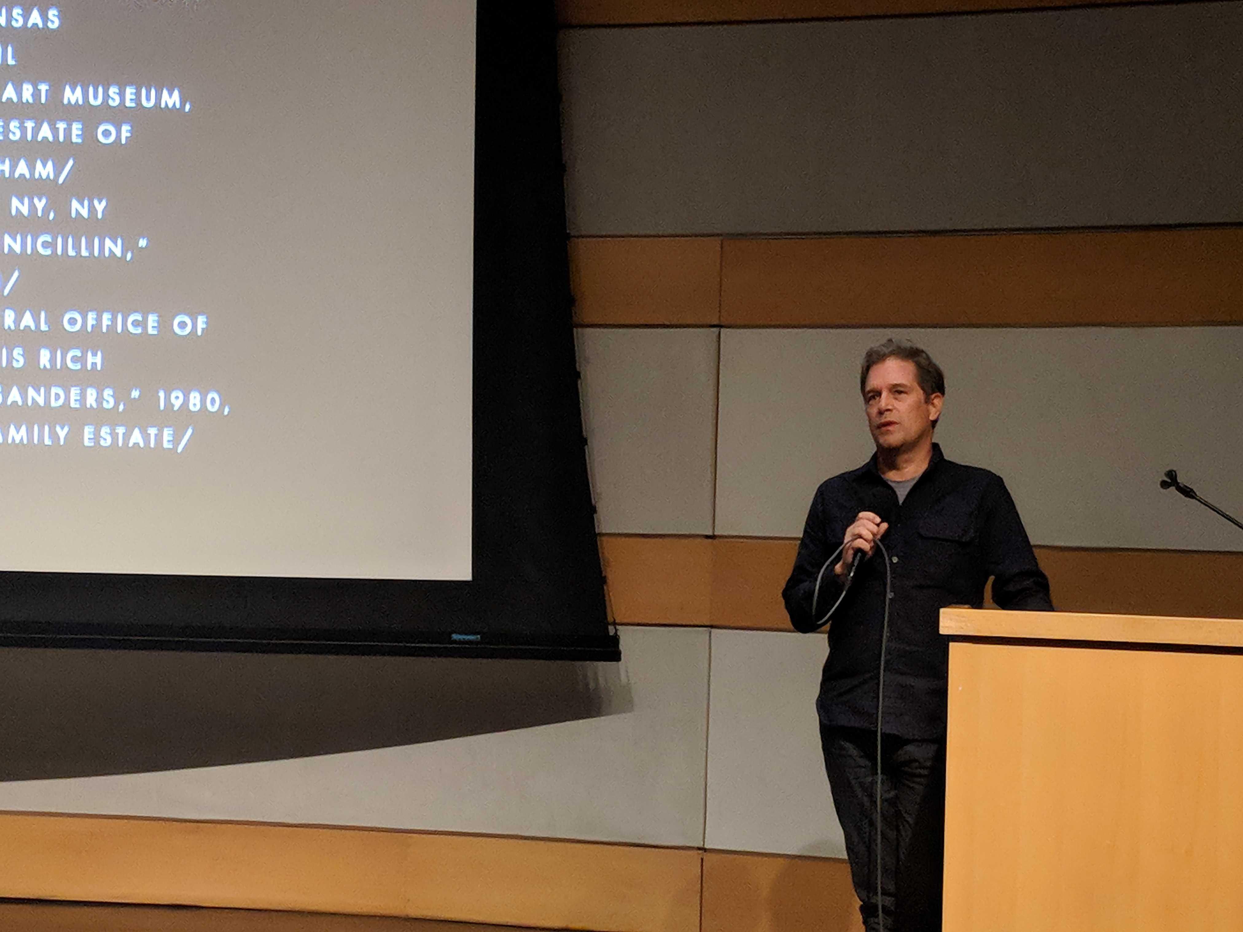 Director Christopher Dillon Quinn at a Q&A. courtesy Alaikia Marielle.