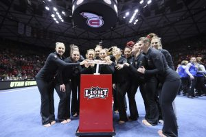 Maverik Center Picked to Host Gymnastics Championship