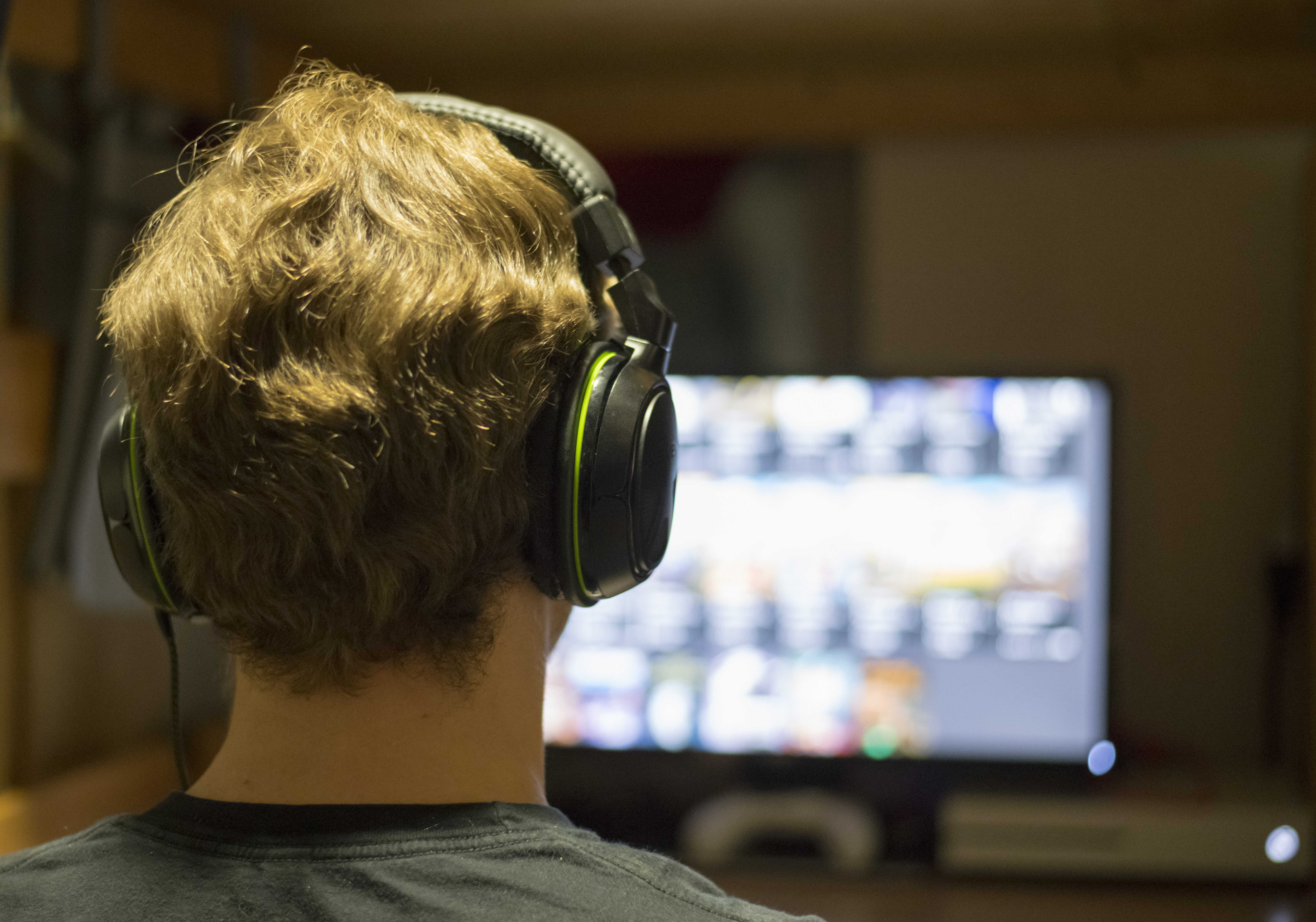 Video Games  (Photo by Curtis Lin | Daily Utah Chronicle)